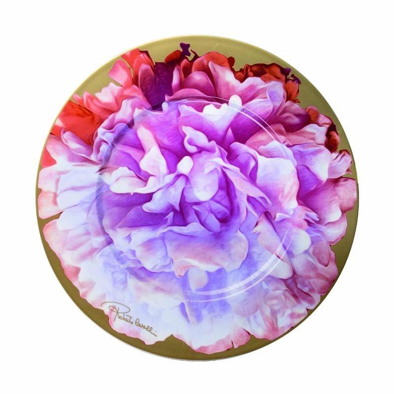 Eden pink plate