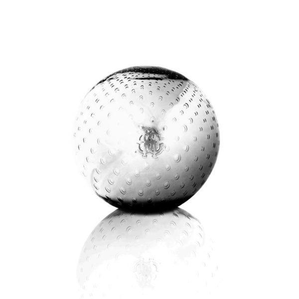 Clear bubbled globe