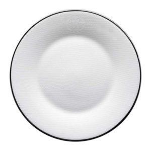 Lizzard platin dessert plate