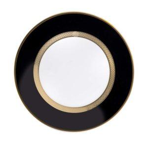 Python black side plate