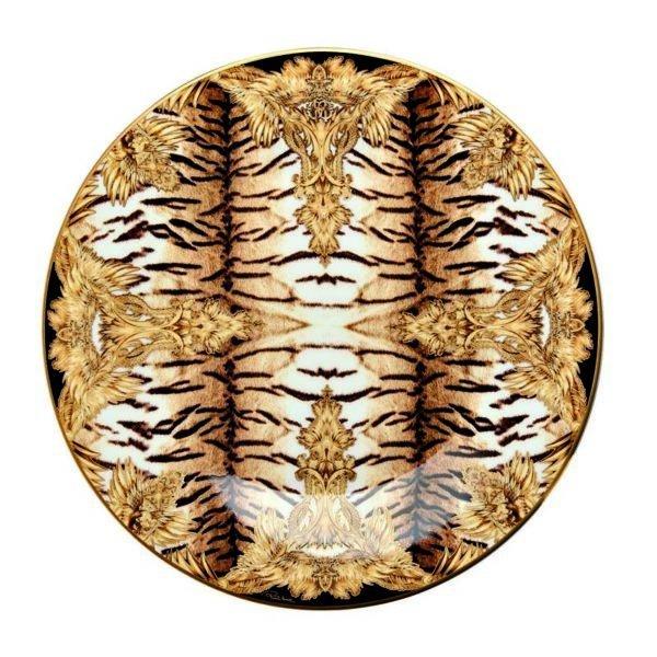 TIGER WINGS bread plate