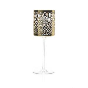 MARRAKESH gold water goblet