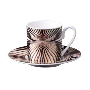 Tigress espresso cup & saucer