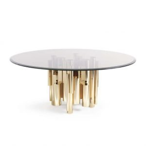 Antigua gold dining table