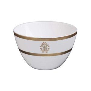 Silk gold rice bowl