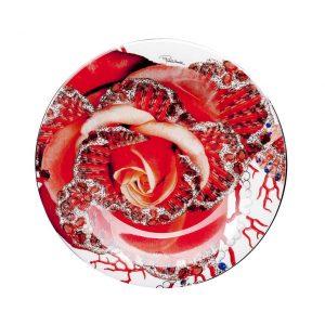 Rose Jewel bread/butter plate