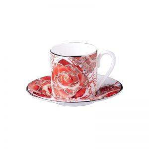 Rose Jewel espresso cup