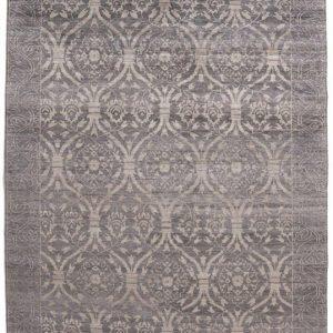 Ottoman style bamboo silk rug
