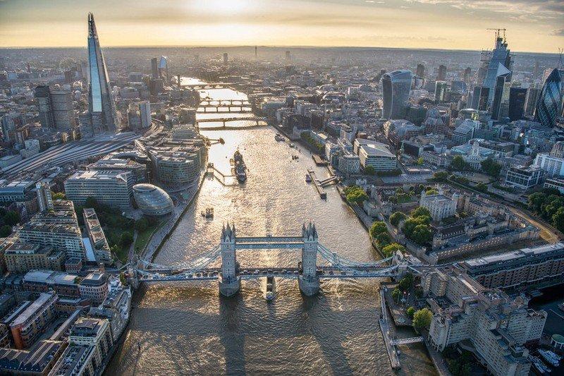London aeriel view