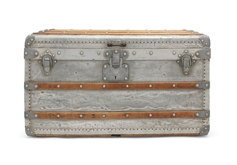 Louis Vuitton trunk sold for $162k
