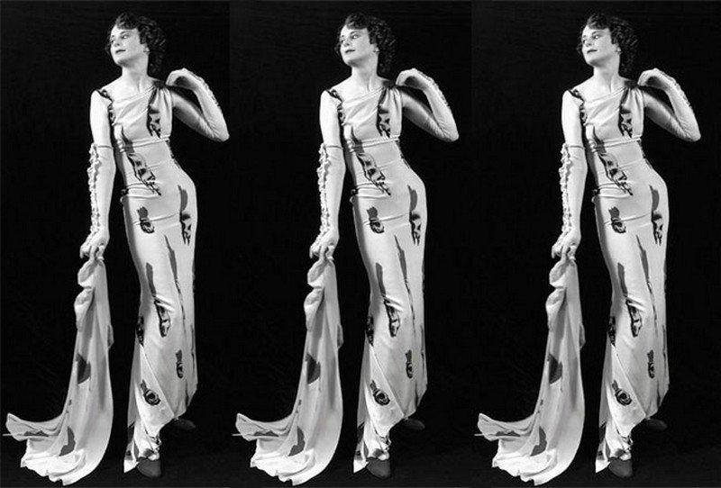 Classic Schiaparelli dress
